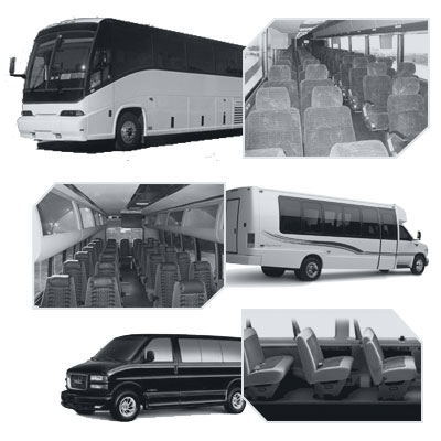 Louisville Coach Bus rental