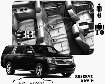 SUV Suburban for hire in Louisville