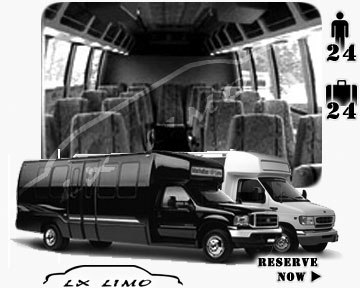 Mini bus for hire in Louisville, KY