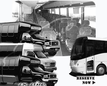 Louisville Bus rental 36 passenger