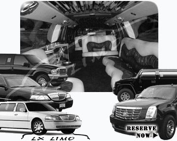 Louisville Stretch Limos for rental
